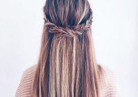 Best 10 super trendy easy hairstyles for school popular haircuts Easy Braided Hairstyles For Medium Hair Ideas