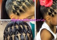 Best 133 gorgeous braided hairstyles for little girls Hair Braiding Styles For Girls Inspirations