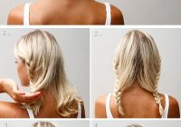Best 20 diy wedding hairstyles with tutorials to try on your own Braided Hairstyle For Wedding Tutorial Ideas