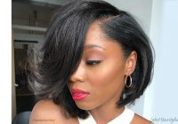 Best 21 sexiest bob haircuts for black women in 2020 Short African American Bob Hairstyles
