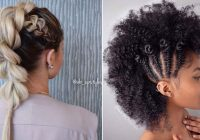 Best 23 mohawk braid styles that will get you noticed stayglam Mohawk Hair Braiding Styles Choices