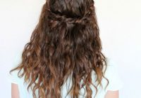 Best 25 easy and cute hairstyles for curly hair southern living Hairstyles For Curly Hair Short Easy Inspirations