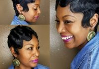 Best 27 hottest short hairstyles for black women for 2020 African American Short Finger Wave Hairstyles Ideas