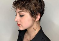 Best 29 short curly hairstyles to enhance your face shape Short Haircut For Kinky Curly Hair Ideas
