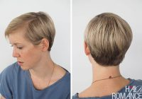 Best 3 quick and easy ways to style short hair hair romance Easy Style For Short Hair Ideas