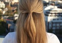 Best 33 quick and easy hairstyles for straight hair the goddess Cute Hairstyles For Short Straight Hair Easy Inspirations