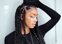 Best 35 best black braided hairstyles for 2020 Best Braid Hairstyles Inspirations