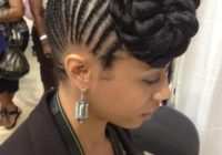 Best 45 fantastic braided mohawks to turn heads and rock this season African American Mohawk Braided Hairstyles Ideas