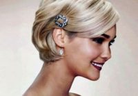 Best 50 superb wedding looks to try if you have short hair hair Short Hair Updos For Wedding Guest Choices