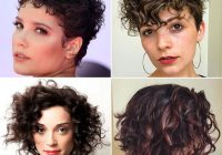 Best 63 cute hairstyles for short curly hair women 2020 guide Very Short Curly Hair Styles Choices
