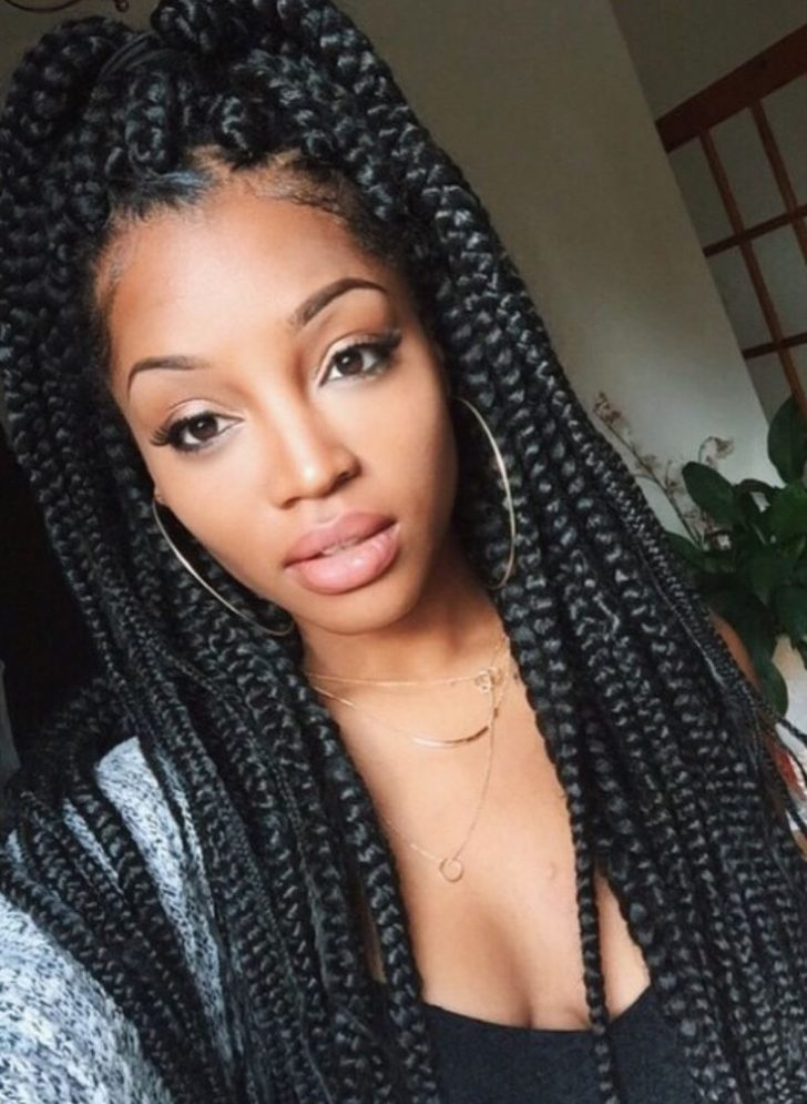Permalink to 10 New African American Box Braid Hairstyles