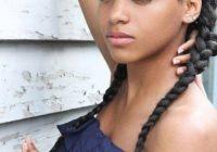 Best 70 best black braided hairstyles that turn heads braided French Braid Hairstyles For African American Hair Ideas