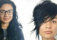 Best 75 woman who bravely cut their hair short and look gorgeous Long Hair With Short Hair Inspirations