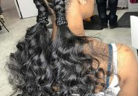 Best 88 best black braided hairstyles to copy in 2020 stayglam African Cute French Braid Hairstyles Ideas