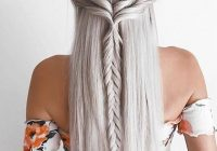 Best 9 creative straight hairstyles for fall hair styles long Long Hair Braided Styles Choices