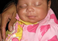Best african american ba girl smiling while sleeping african African American Babies Girl Pics Ideas
