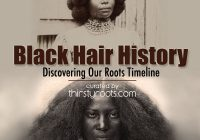 Best african american hair history timeline African American Hairstyle Books
