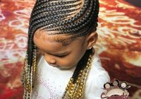 Best awesome braided hairstyles for little girls hair African American Kids Braid Styles
