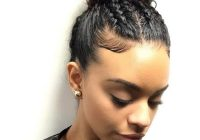 Best check out our 24 easy to do updos perfect for any occasion Easy Bun Hairstyles For Short Curly Hair Inspirations