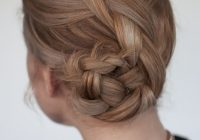 Best easy braided bun hairstyle tutorial hair romance French Braid Bun Hairstyles Tutorial Ideas