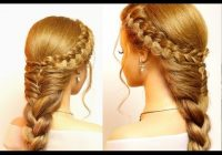 Best easy hairstyles for long hair cute braids tutorial youtube Braided Hairstyle For Long Hair Tutorial Ideas