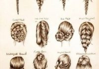 Best fashion in infographics hair styles hair beauty long Different Styles Of Hair Braids Inspirations