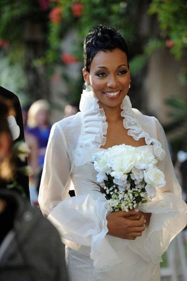 Permalink to 9 Elegant African American Short Wedding Hairstyles Inspirations