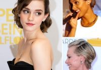 Best formal hairstyles for short hair popsugar beauty Styling Your Short Hair Ideas