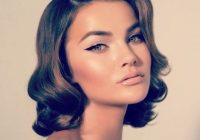 Best glamorous bob hair styles wedding hair and makeup hair Vintage Hair Styles For Short Hair Inspirations