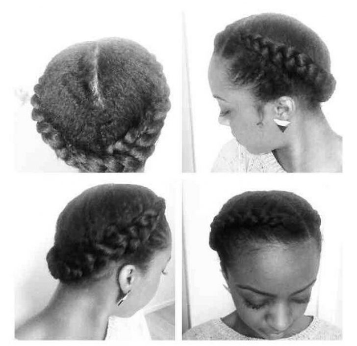 Permalink to 10   Goddess Braid For Short Natural Hair Gallery
