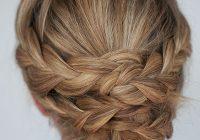 Best hairstyle how to easy braided updo tutorial hair romance Braid Updo Long Hair Ideas