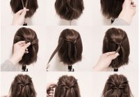 Best httpss media cache ak0pinimgoriginals9a6ce1 Cool Hairstyles For Short Hair Step By Step Choices