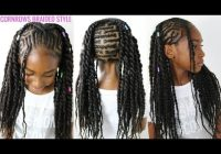 Best kids natural hair styles cornrows braided style back to school hair Natural Hair Braid Styles Kids Choices