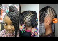 Best lil girl braiding hairstyles little black girl natural hair styles Little Girl Braids African American Ideas