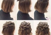 Best look gorgeous every day with easy hairstyles for medium Easy Hairstyles For Short Thick Hair To Do At Home Ideas