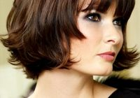 Best medium hairstyles for round faces circletrest Short To Medium Haircuts For Round Faces Inspirations