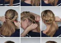 Best multi braided updo hair styles easy braided updo hair Long Hair Braided Updo Tutorial Inspirations