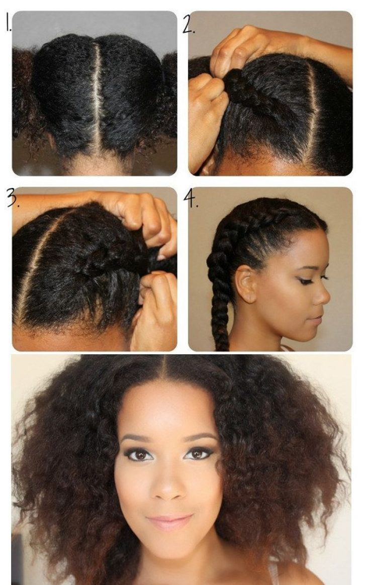 Permalink to 9 Elegant French Braid Styles For Short Natural Hair