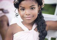 Best pin black weddings on flower girls ring bearers kids African American Girl Hairstyles For Weddings Designs
