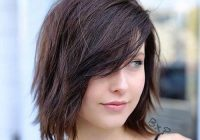 Best pin on me Short Hair With Side Swept Bangs And Layers Ideas