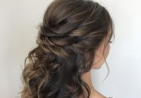 Best pin on prom formal homecoming hairstyles goldplaited Prom Hairstyles For Short Hair Half Up Half Down Curly Choices