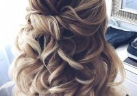 Best prom hairstyles for short hair half up half down hairstyles Prom Hairstyles For Short Hair Half Up Half Down Curly Inspirations
