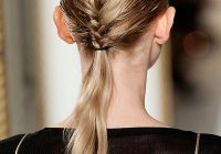 Best prom hairstyles for thin hair stylecaster French Braid Hairstyles For Thin Hair Choices