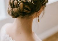 Best real inspiration for the perfect wedding updo mywedding French Braid Wedding Hairstyles Choices
