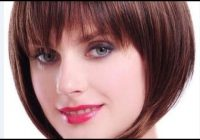 Best short bob hairstyles for fine hair with bangs Short Bob Haircuts With Bangs For Fine Hair Choices