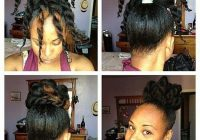 Best simple hairstyles for natural black hair hairstyles vip Cute Quick Hairstyles For Short Black Hair Choices