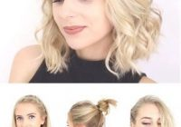 Best super quick and easy short hairstyles for school date or Cute Ponytails For Short Hair For School Choices