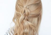 Best the no braid braid 5 pull through braid tutorials hair Easy Hairstyles For Long Hair No Braids Choices