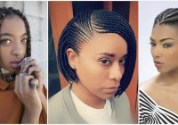Best trendy braids for short natural hair to rock in 2018 Natural Hair Braid Styles For Short Hair Choices