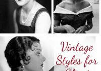 Best vintage styles for short hair Vintage Hair Styles For Short Hair Choices